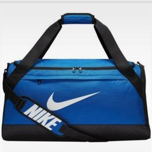 Nike Brasilia Duffel Bag Saphire Blue Medium